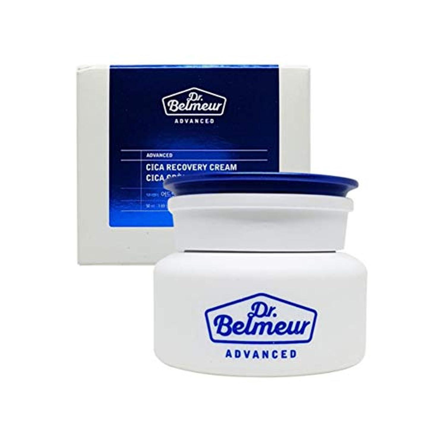 飼い慣らすゴミ熱ザ?フェイスショップドクターベルモアドバンスドシカリカバリークリーム50ml 韓国コスメ、The Face Shop Dr.Belmeur Advanced Cica Recovery Cream 50ml Korean...