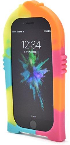 PLATA iPhone6 / iPhone6s / iPhone7 / iPhone8 ケース シリコン ジュークボックス ネオンカラー アイフォンカバー IP7-4086-01