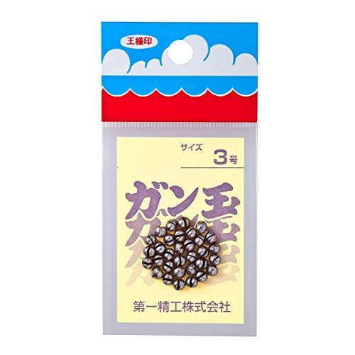 第一精工 ガン玉50円 3号