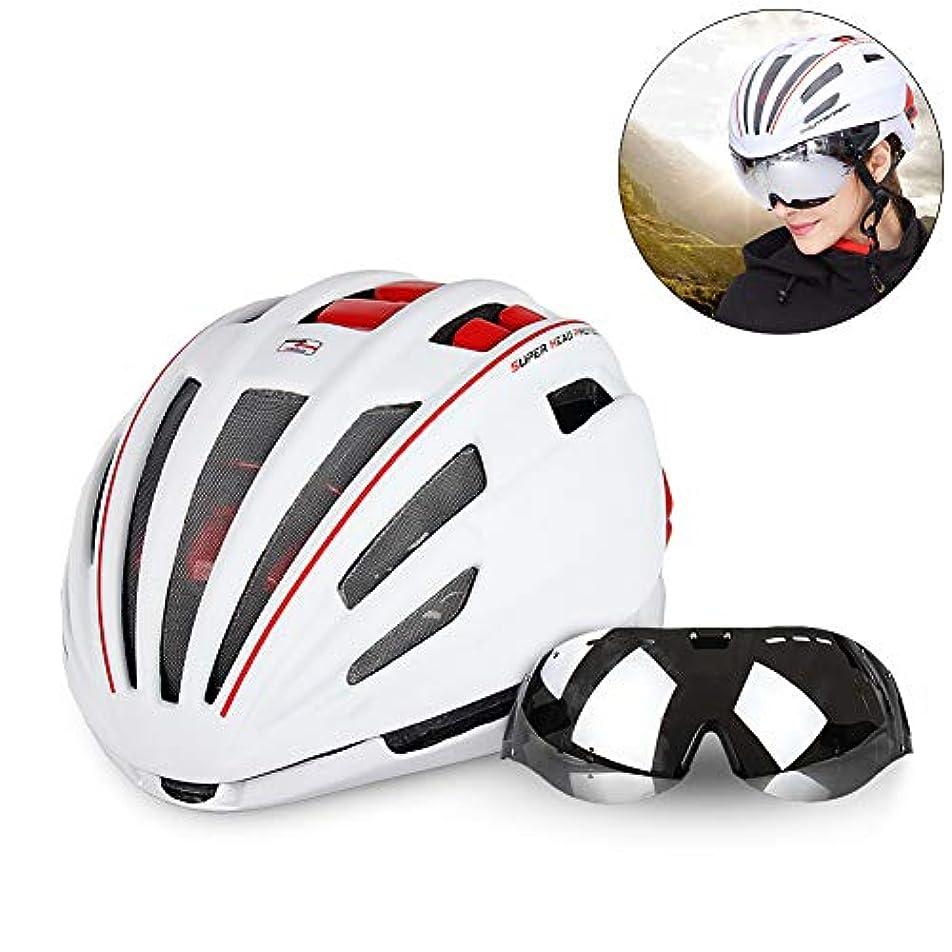 有効な東コンピューターを使用するMTBサイクリングヘルメット/メガネヘルメット/ゴーグル付き自転車用ヘルメット/サイクリング用品/マウンテンバイク用ヘルメット/男性と女性