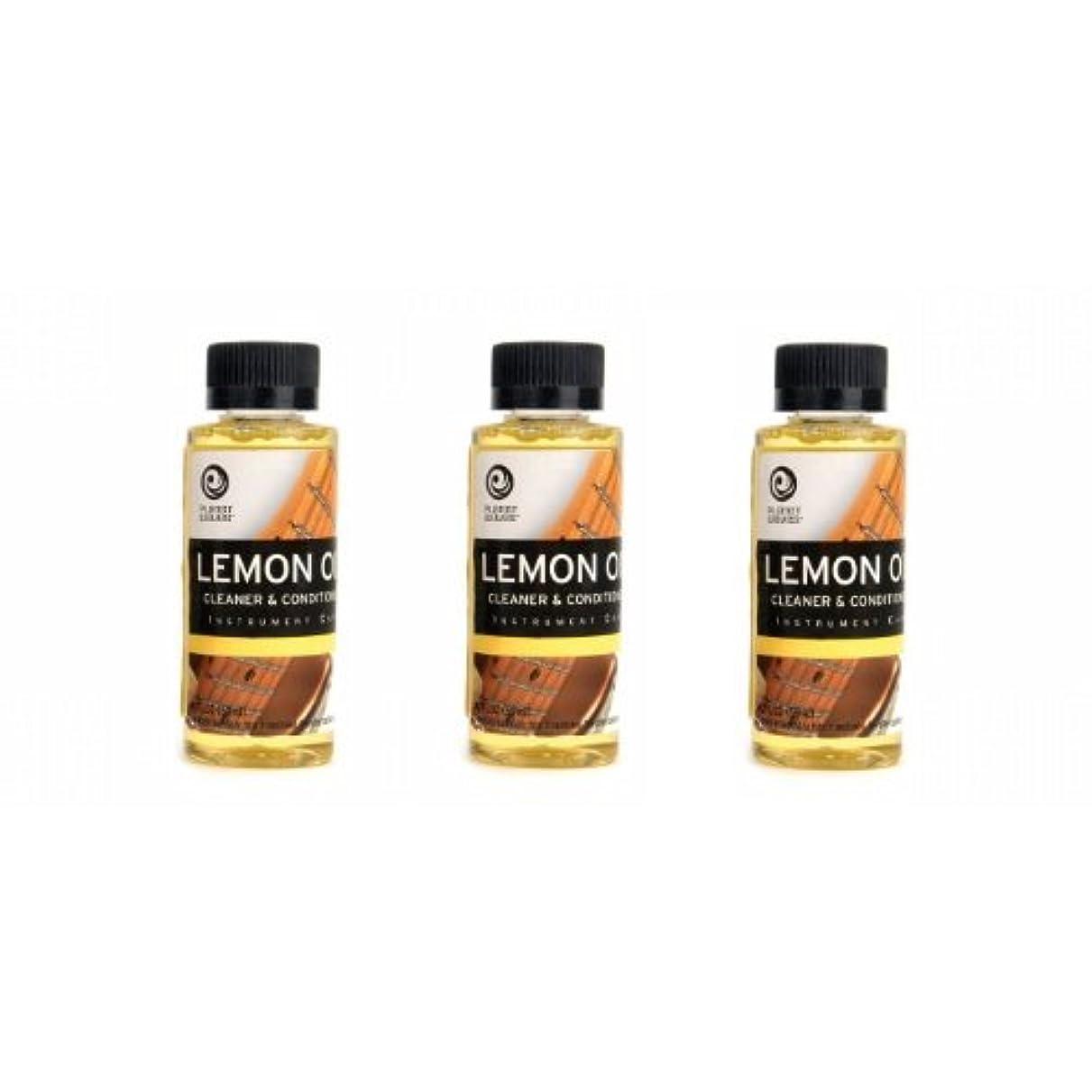 勝者啓示スライムPlanetWaves レモンオイル PW-LMN Lemon Oil 3個セット