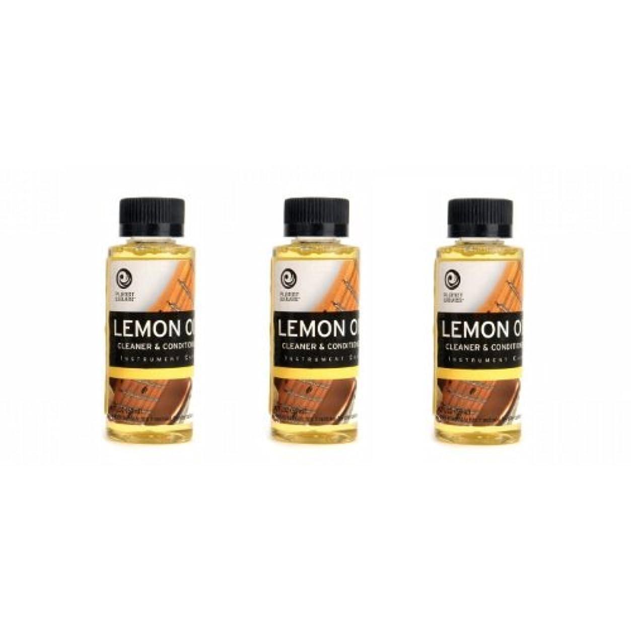 クリスマス主導権頭痛PlanetWaves レモンオイル PW-LMN Lemon Oil 3個セット