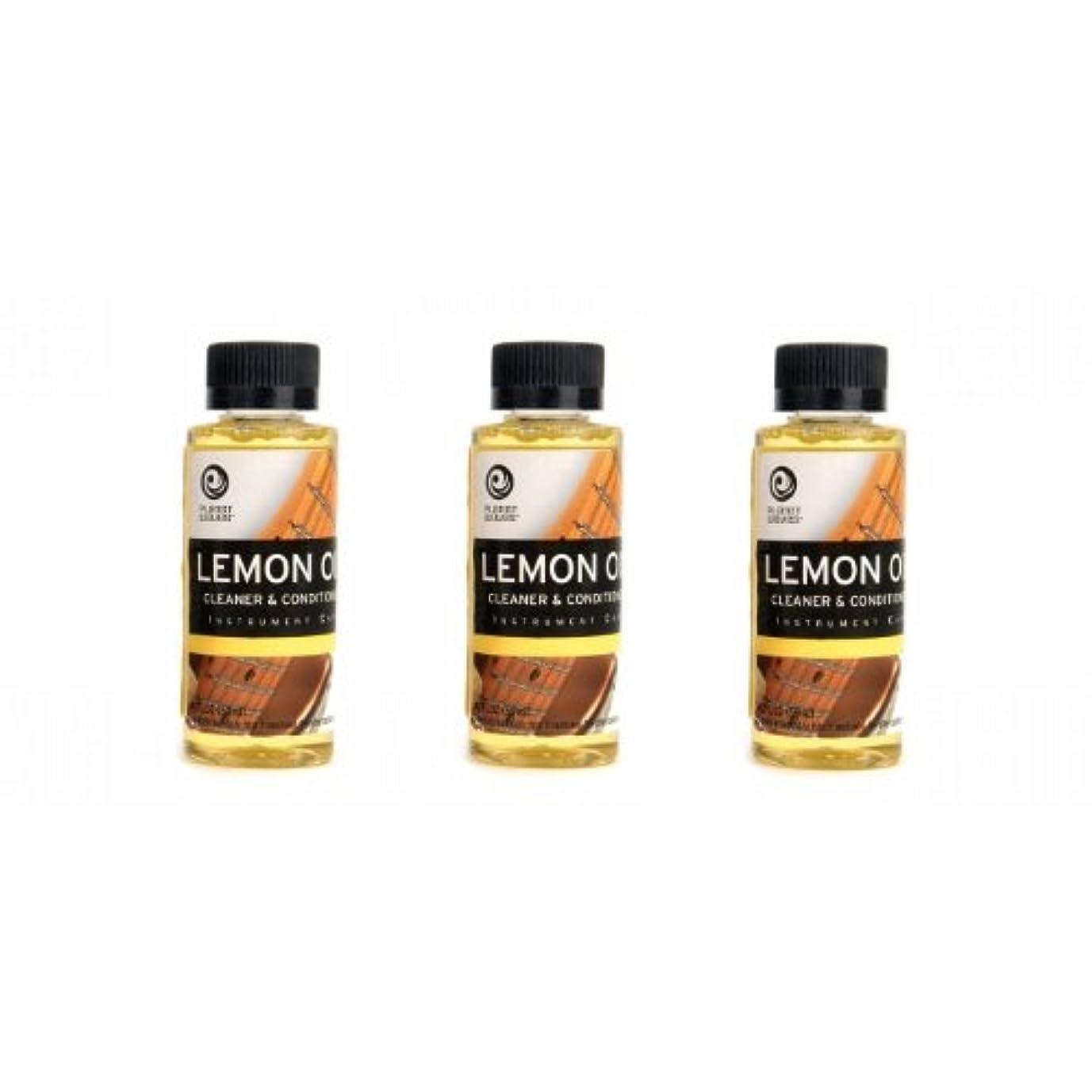 トラブル地図公園PlanetWaves レモンオイル PW-LMN Lemon Oil 3個セット