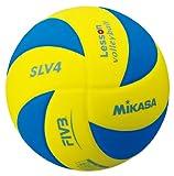 ミカサバレーボール キッズレッスンバレー 4号球 約160g SLV4-YBL