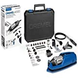 Dremel 4000 Rotary Tool 175 W, Rotary Multi Tool Kit with 4 Attachment 65 Accessories, Variable Speed 5000-35000 rpm for Cutt