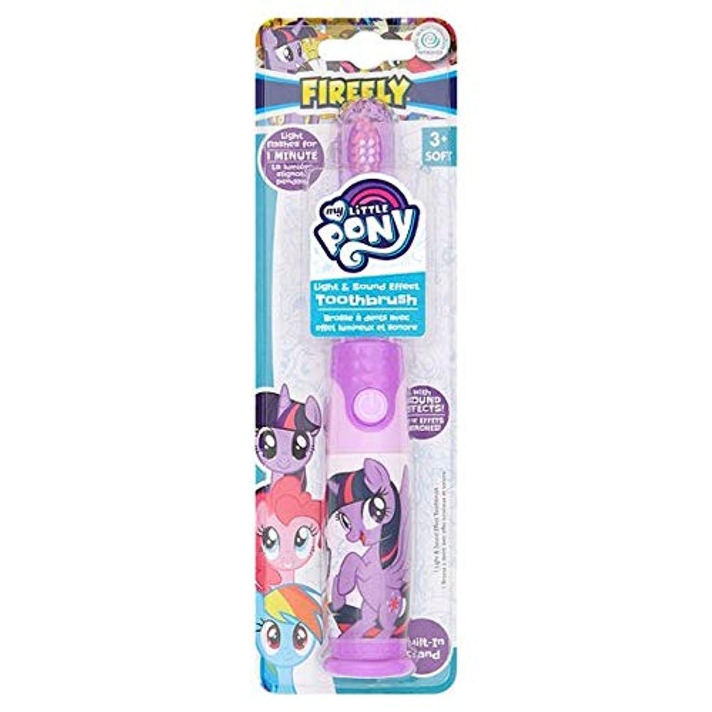 期限天文学なだめる[Firefly ] 私の小さなポニーのホタルの光と音の歯ブラシ - My Little Pony Firefly Light And Sound Toothbrush [並行輸入品]