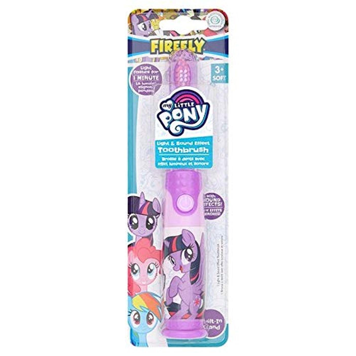 お勧め検査エレベーター[Firefly ] 私の小さなポニーのホタルの光と音の歯ブラシ - My Little Pony Firefly Light And Sound Toothbrush [並行輸入品]