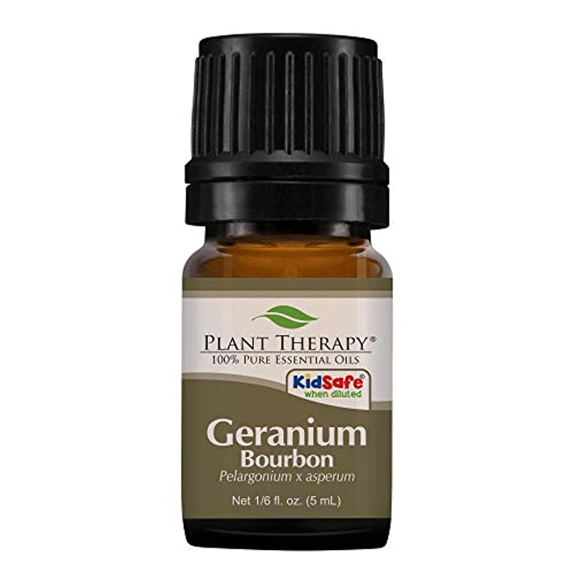 地中海ペルー出くわす植物セラピーゼラニウムブルボンエッセンシャルオイル。 100%ピュア、希釈していない、治療グレード。 5ミリリットル(1/6オンス)