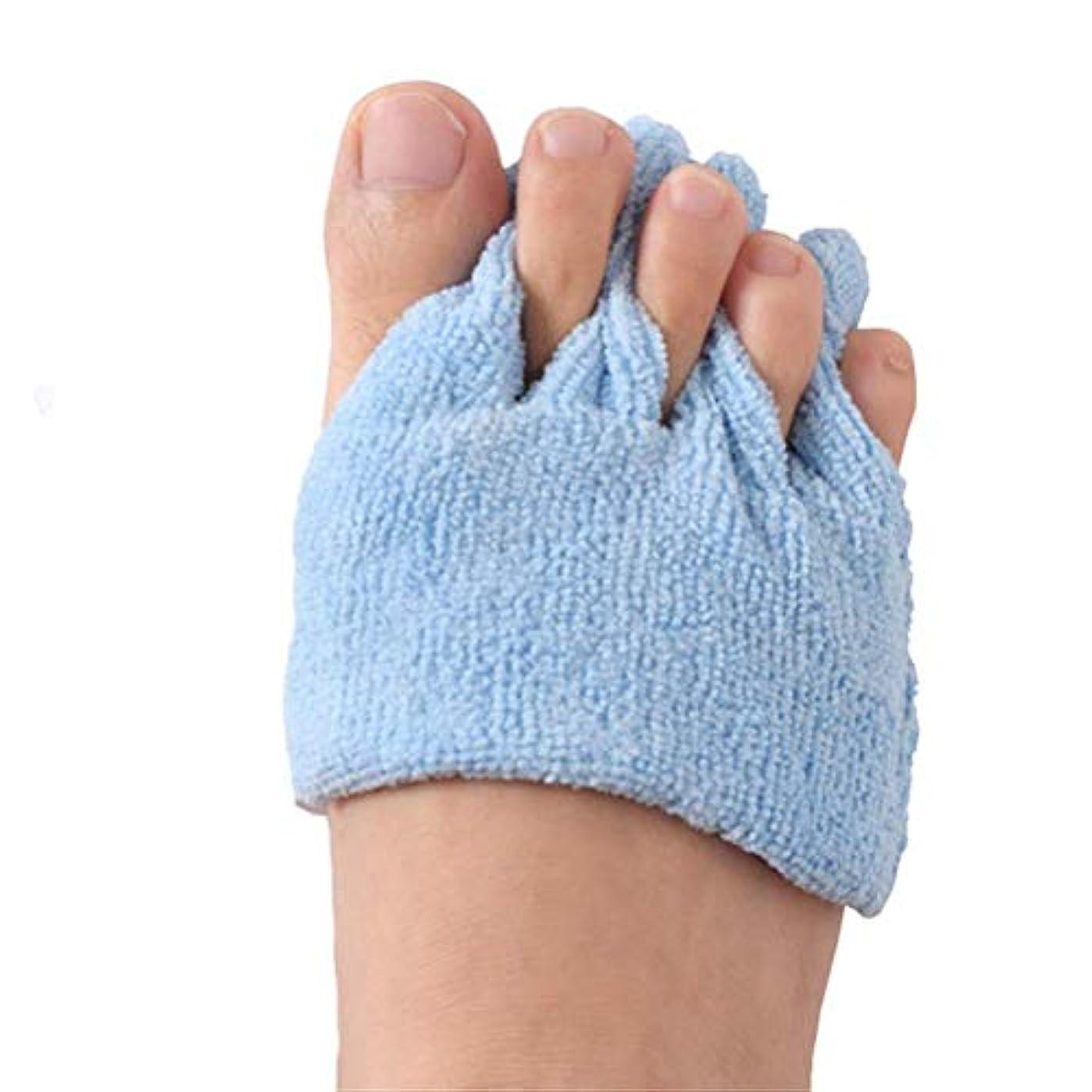 チョーク心から厳つま先の分離器の患者の腱の運動つま先サポート反フィートの潰瘍パッドは片麻痺患者のためのつま先の変形を防ぐためにつま先を保護します