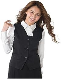 [nissen(ニッセン)] 洗える防汚加工ベスト(消臭テープ付)(上下別売りベストスーツ) 大きいサイズ レディース