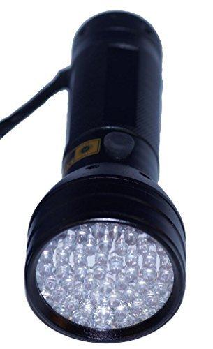 紫外線ライト ブラックライト UV 51LED (ブラック)...