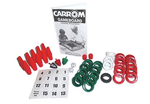 Carrom 029.01 Carrom Equipment Set [Floral] [並行輸入品]