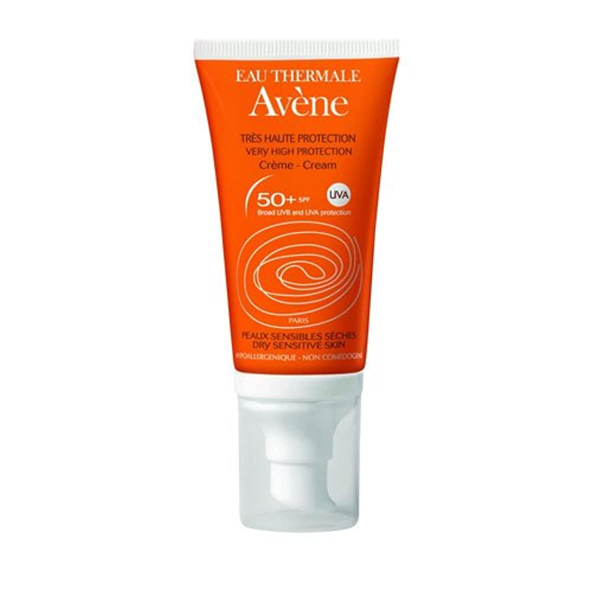 感謝するおめでとうおびえたAvene Suncare Cream No Perfume 50+ 50ml [並行輸入品]
