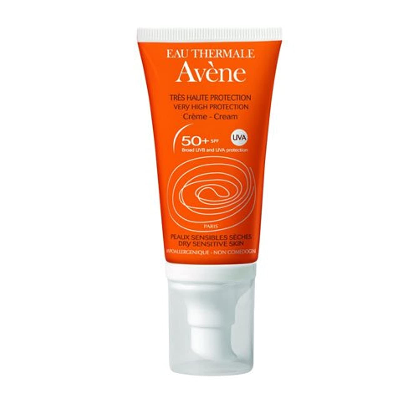 Avene Suncare Cream No Perfume 50+ 50ml [並行輸入品]