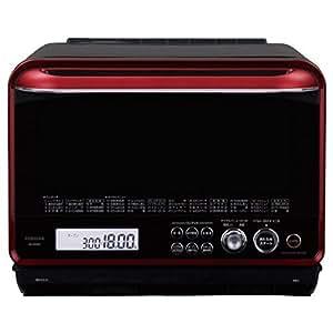 東芝 石窯ドーーム スチームオーブンレンジ 30L ER-MD300-R グランレッド