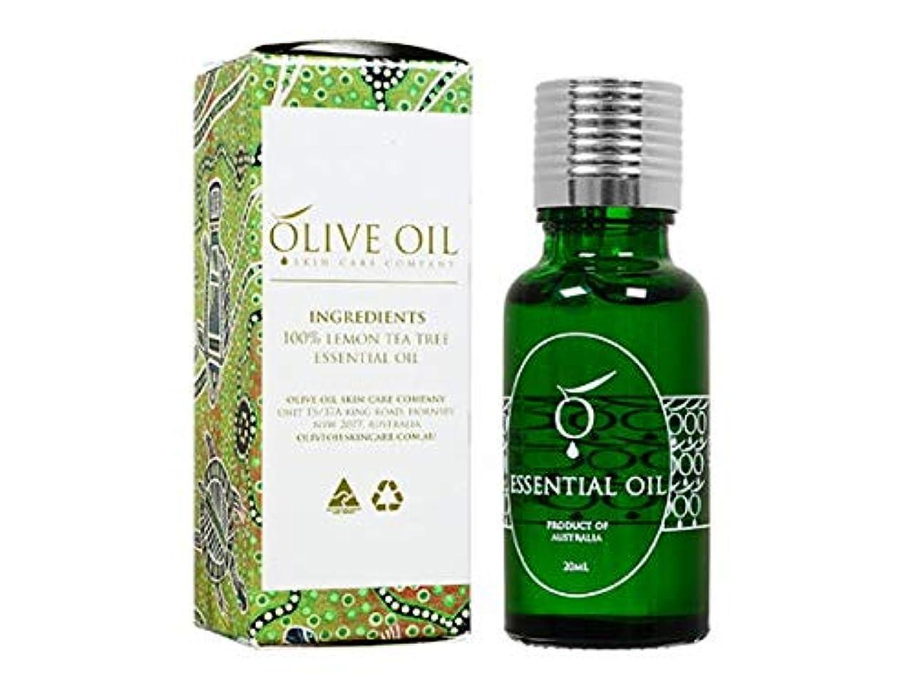 対称トライアスリート耐えられないOliveOil エッセンシャルオイル?レモンティーツリー 20ml (OliveOil) Essential Oil (Lemon Tea Tree) Made in Australia