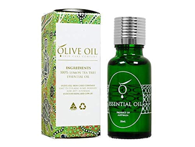 リラックスフェザー公演OliveOil エッセンシャルオイル?レモンティーツリー 20ml (OliveOil) Essential Oil (Lemon Tea Tree) Made in Australia