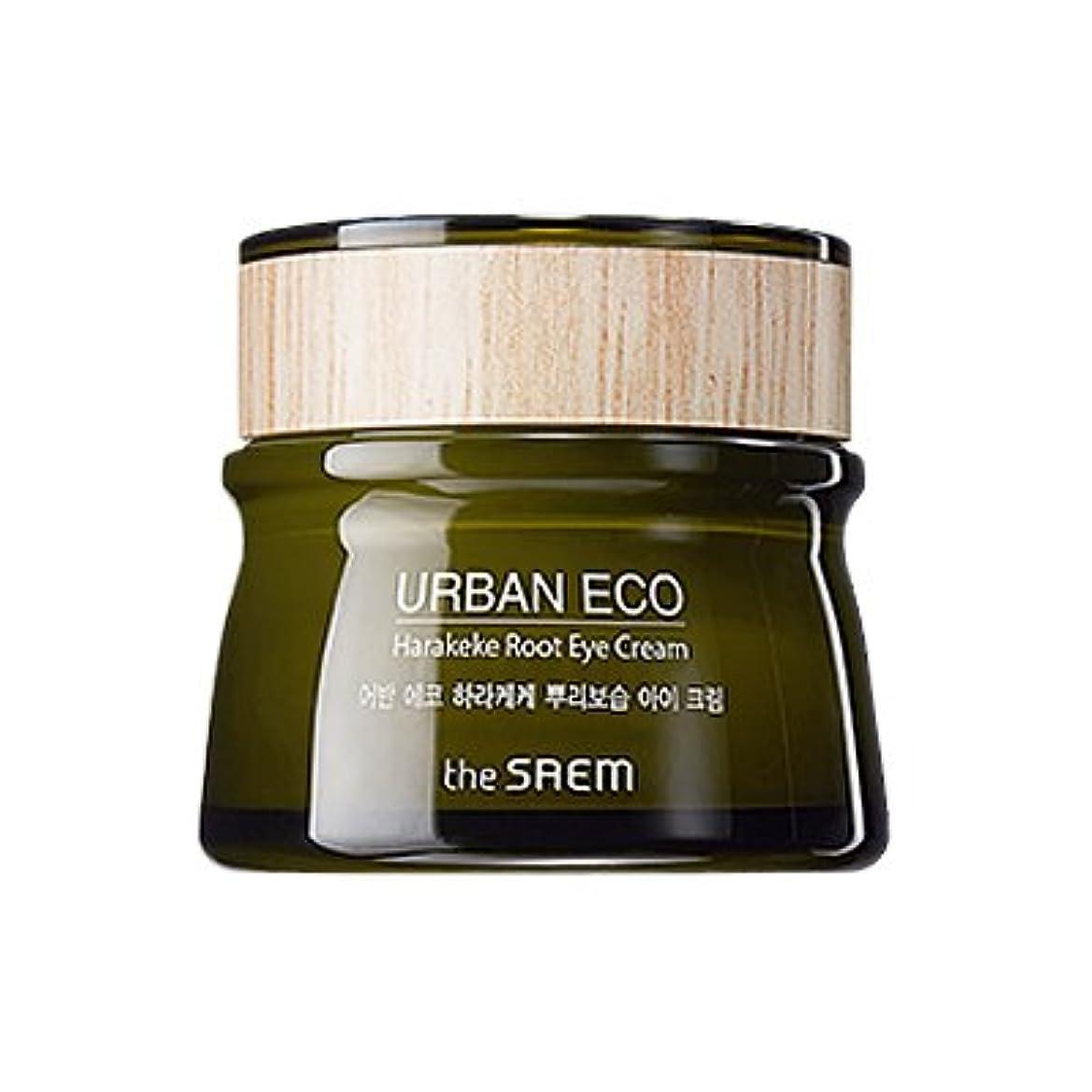 ウール花弁おばあさんThe SAEM Urban Eco Harakeke Root Eye Creamザセムアーバンエコハラケケ根保湿アイクリーム [並行輸入品]