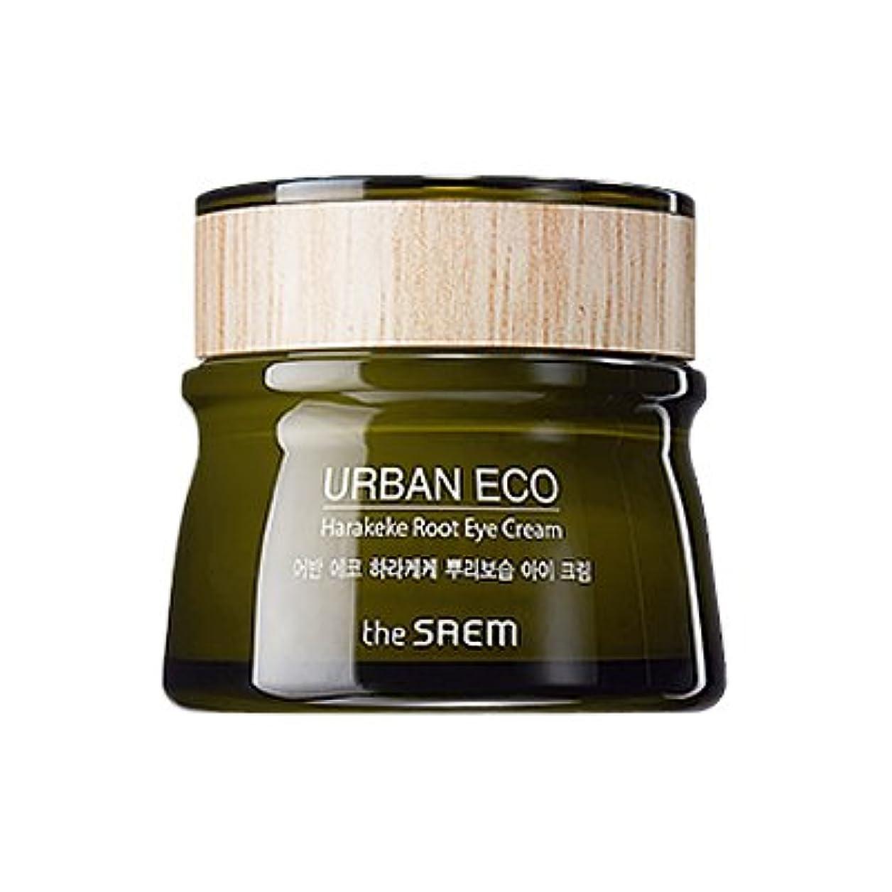 曲線原稿展望台The SAEM Urban Eco Harakeke Root Eye Creamザセムアーバンエコハラケケ根保湿アイクリーム [並行輸入品]