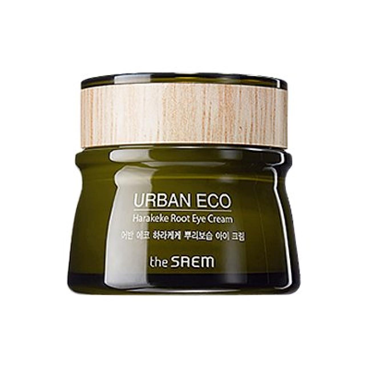 サイレン嵐合図The SAEM Urban Eco Harakeke Root Eye Creamザセムアーバンエコハラケケ根保湿アイクリーム [並行輸入品]