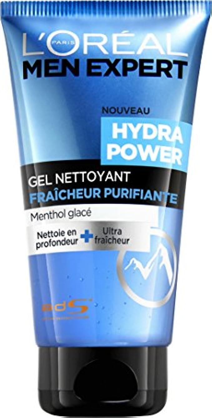 セッティングドロップディスクL'OREAL - Men Expert - Hydratant Power Gel Nettoyant Homme Fraicheur Purifiante - 150ml