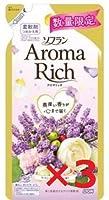 ソフラン アロマリッチ 柔軟剤 ラベンダーの香り 詰め替え430ml3個
