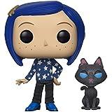 FUNKO POP! Movies: Coraline- Coraline w/ Cat Buddy