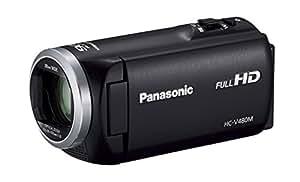 Panasonic HDビデオカメラ V480M 32GB 高倍率90倍ズーム ブラック HC-V480M-K