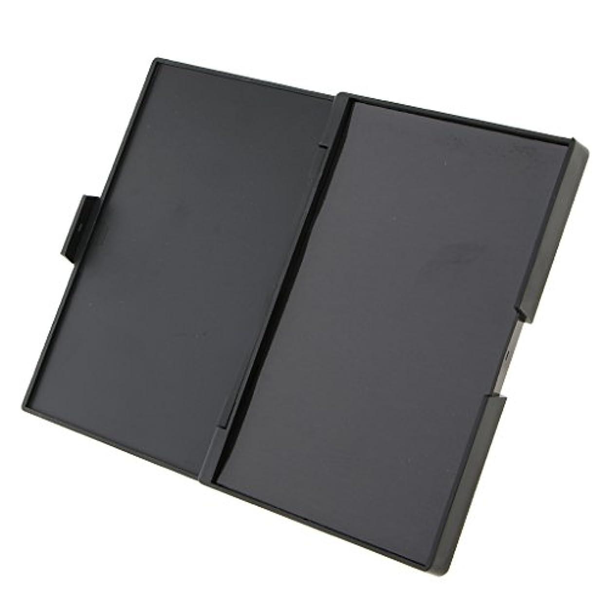 系統的七時半淡い全3種類 組み合わせ DIY ボックス 磁気 アイシャドー パレット 旅行用 メイクアップ 便携 収納 - パレットボックス