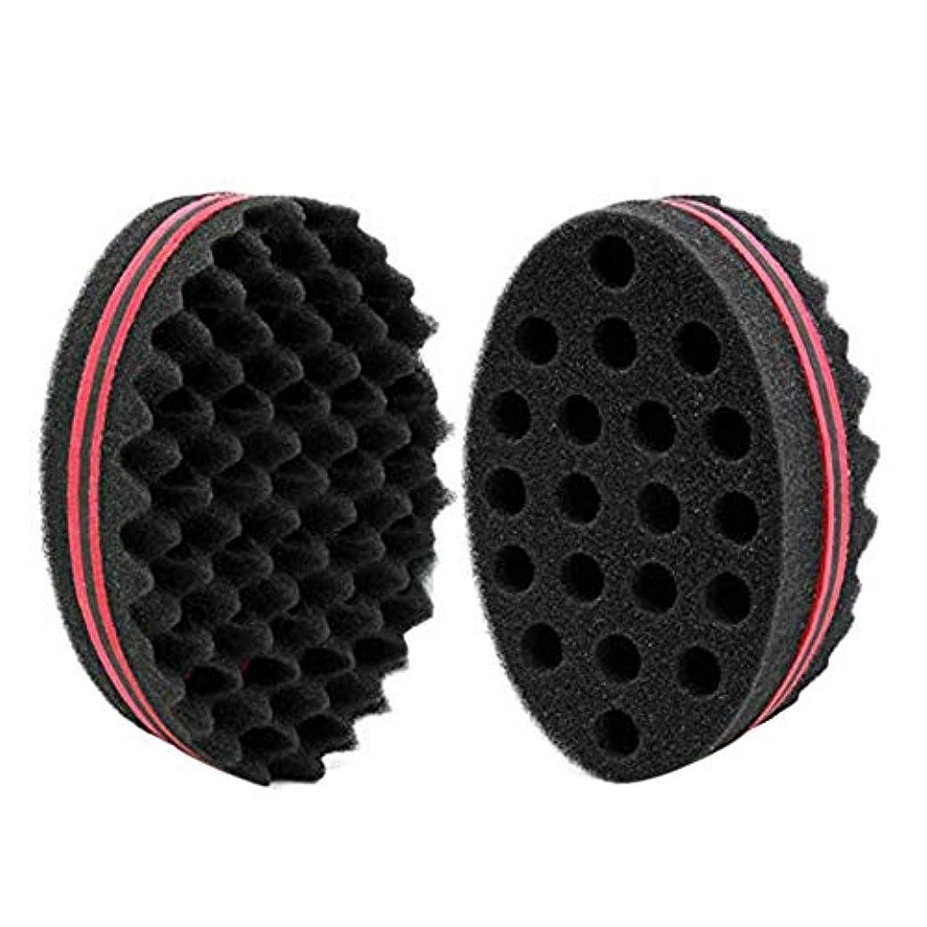 注目すべき竜巻繊維カールヘアスポンジグローブブラシバーバー波ツイストのカーリーヘアスタイリング マジックビューティーツール