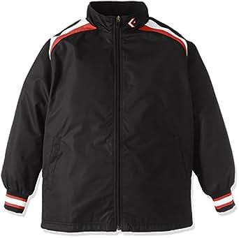 (コンバース)CONVERSE バスケットボール ウェア ジュニア ウォームアップジャケット CB462506S 1911 ブラック/ホワイト 140