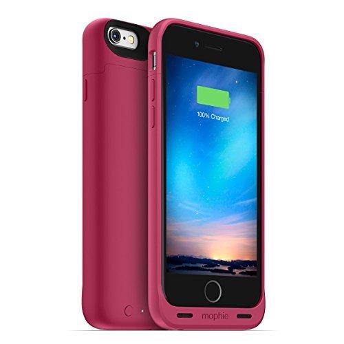 日本正規代理店品・保証付mophie juice pack reserve for iPhone 6s/6 (1,840mAh バッテリー内蔵ケース) ピンク MOP-PH-000125