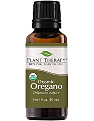 植物セラピーUSDA認定オーガニックエッセンシャルオイルオレガノ。 100%ピュア、希釈していない、治療グレード。 30mLの(1オンス)。