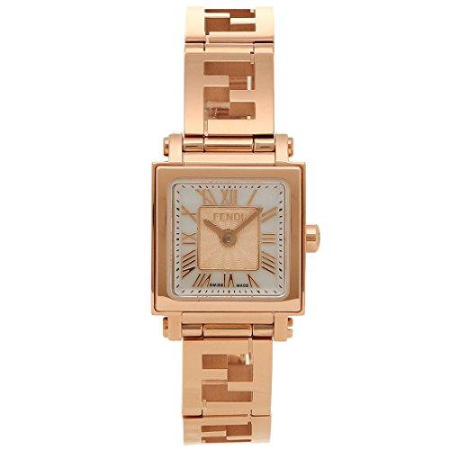 [フェンディ] 腕時計 レディース FENDI F605524500 ホワイトパール ピンクゴールド [並行輸入品]