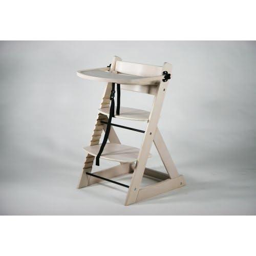 ベビーチェア キッズチェア テーブル付き トレイ付き 木製 子供用椅子 ホワイトウォッシュ
