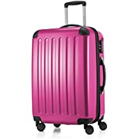 "Hauptstadtkoffer Alex Luggage Suitcase Hardside Spinner Trolley Expandable 24"" TSA Pink 65 Centimeters"