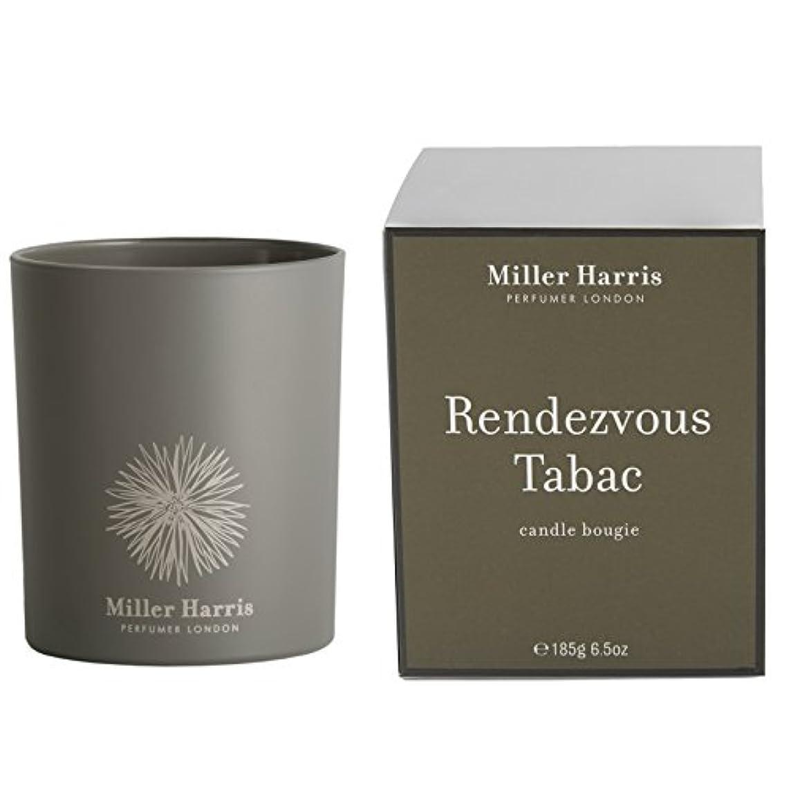 ミラーハリス Candle - Rendezvous Tabac 185g/6.5oz並行輸入品