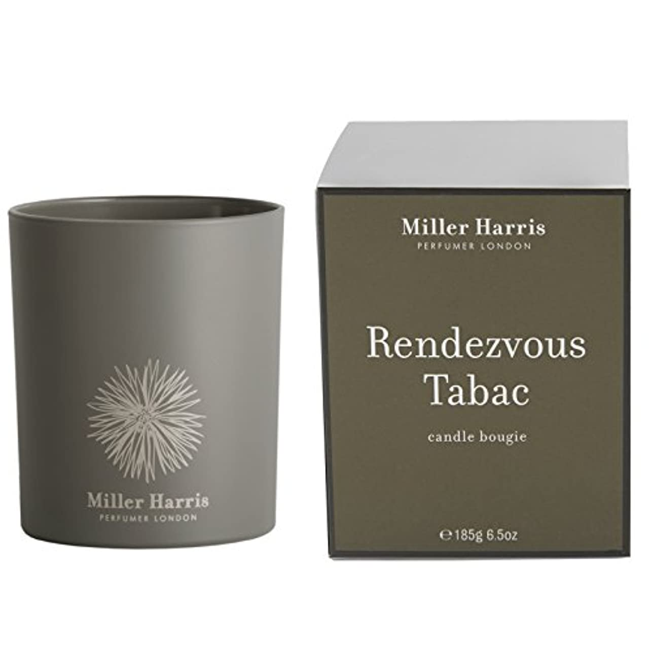 ええ空の動物ミラーハリス Candle - Rendezvous Tabac 185g/6.5oz並行輸入品