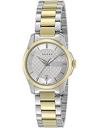 [グッチ]GUCCI 腕時計 Gタイムレス シルバー文字盤 YA126531 レディース 【並行輸入品】
