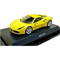 京商 1/64 フェラーリ ミニカーコレクション11 488GTB 黄色