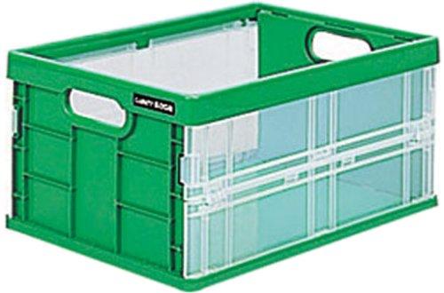 ナカバヤシ フレックスコンテナミニ 収納ボックス グリーン CFC-301G