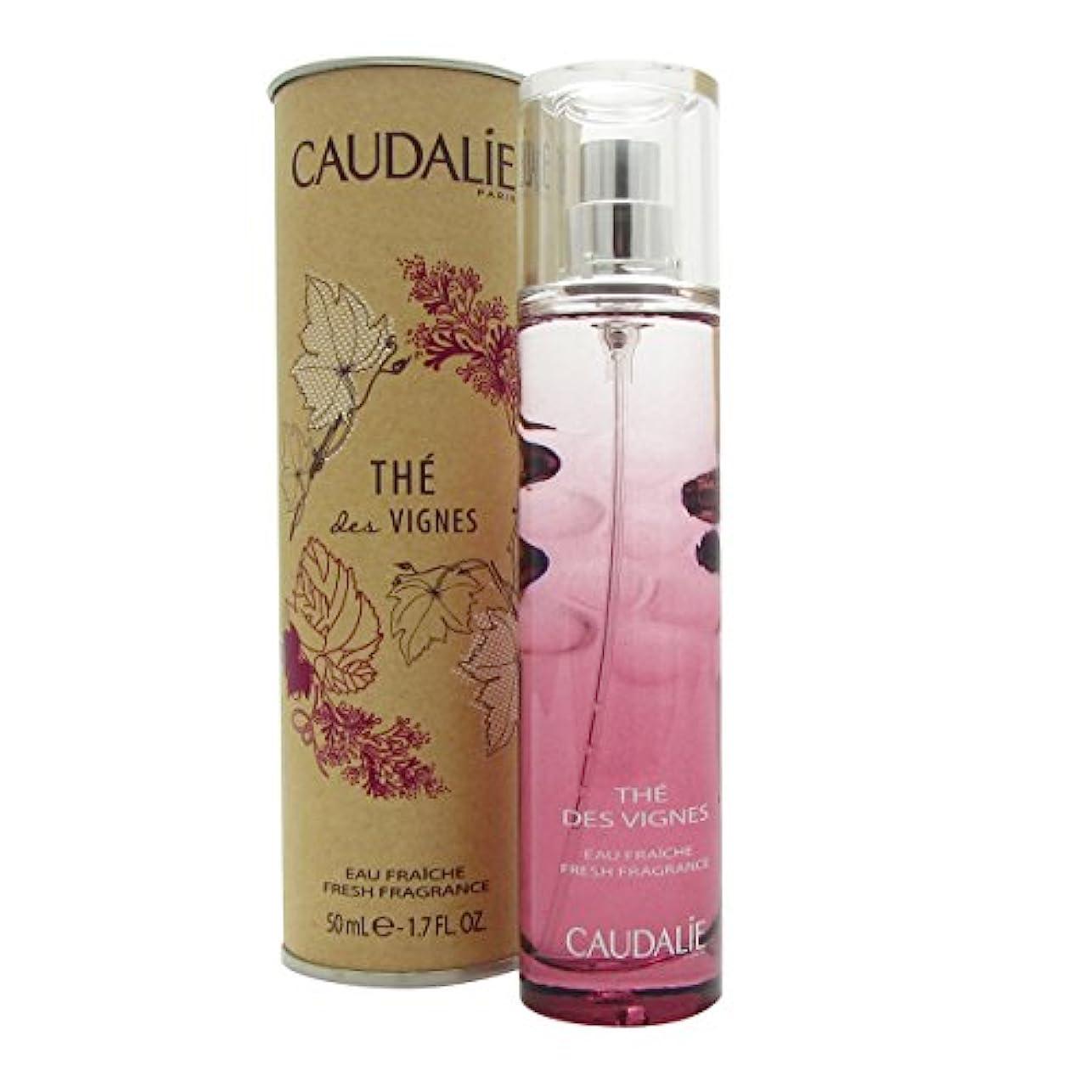スマート愚かな不利益Caudalie Th Des Vignes Fresh Fragrance 50ml [並行輸入品]