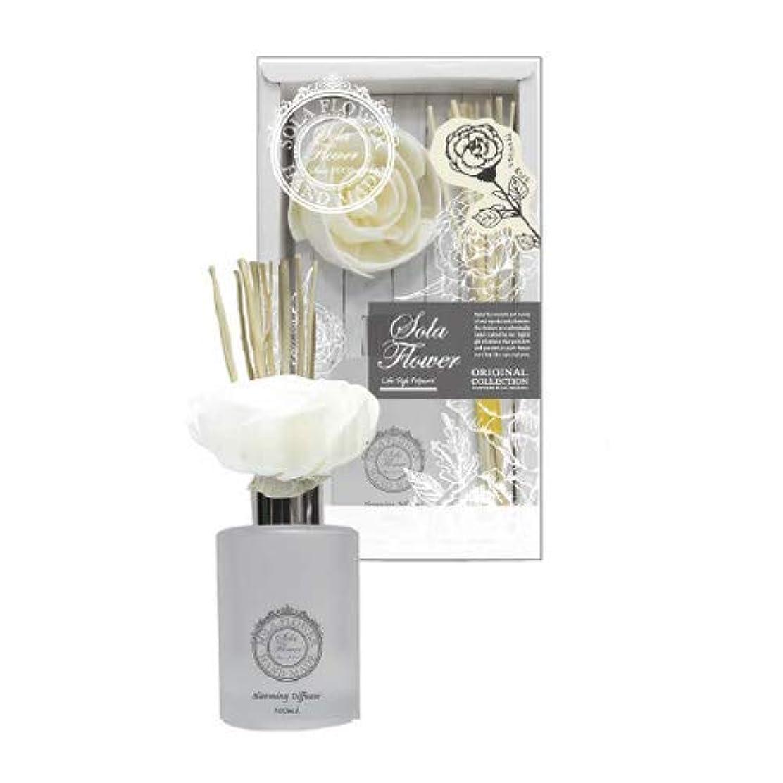 メーター船尾腹部三和トレーディング new Sola Flower Blooming Diffuser ソラディフューザー Precious Rose プレシャスローズ