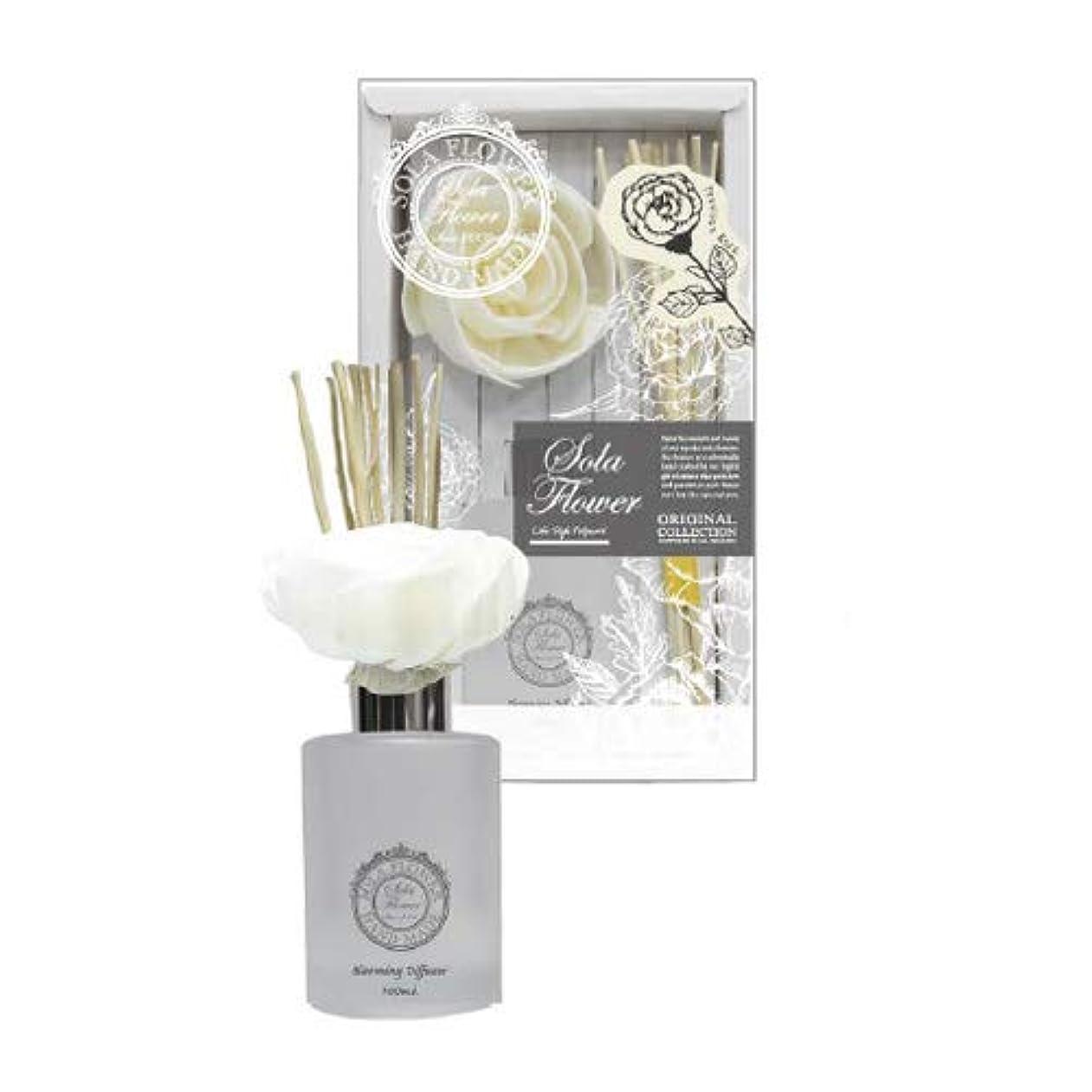 読み書きのできないテスピアン意志に反する三和トレーディング new Sola Flower Blooming Diffuser ソラディフューザー Precious Rose プレシャスローズ