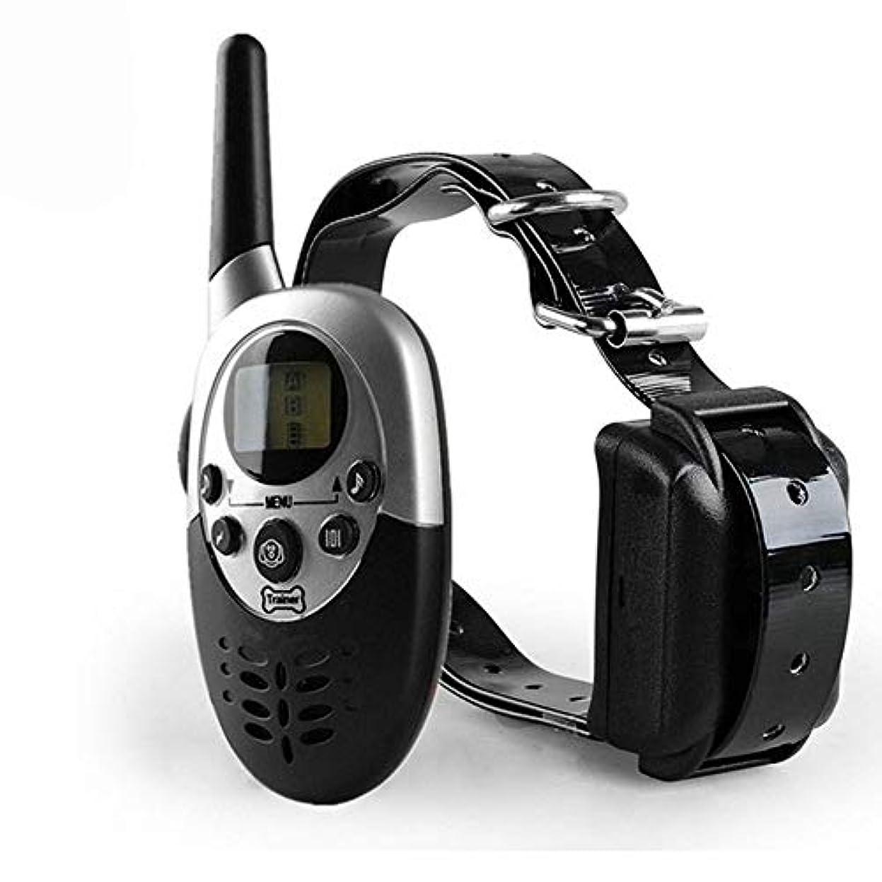 価値のない縁盗難Jiabei ペットは防水リモートコントロール犬のデバイス振動樹皮の首輪犬の充電千メートル用品 (色 : As-picture)