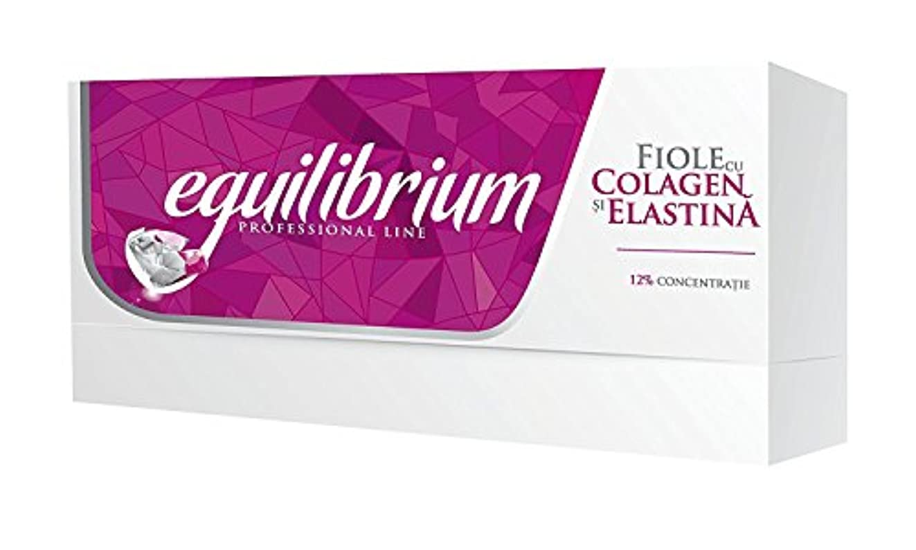 シェルターナチュラル記念ジェロビタール H3 エクリブリウムプロフェッショナル コラーゲン&エラスチン バイヤル(12%濃縮) [海外直送]