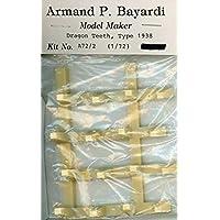 Armand P. Bayardi 1:72 ドラゴンの歯型 1938 樹脂製ジオラマアクセサリー #A72/2