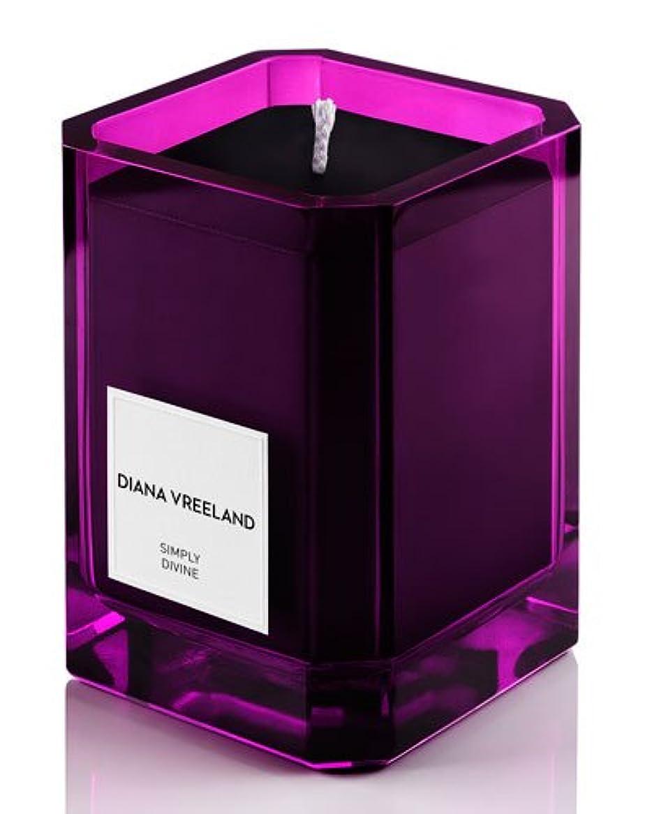 ラメファンブル画像Diana Vreeland Simply Divine(ダイアナ ヴリーランド シンプリーディヴァイン)3.4 oz (100ml) Candle(香り付きキャンドル)