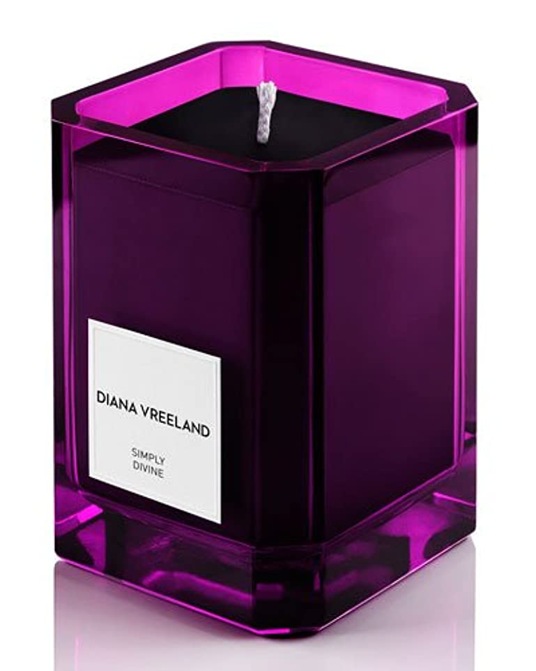 相互接続メニュー傾いたDiana Vreeland Simply Divine(ダイアナ ヴリーランド シンプリーディヴァイン)3.4 oz (100ml) Candle(香り付きキャンドル)