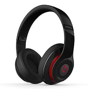【国内正規品】Beats by Dr.Dre Studio Wireless 密閉型ワイヤレスヘッドホン ノイズキャンセリング Bluetooth対応 ブラック MH8H2PA/B